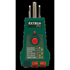 Extech ET10  GFCI Receptacle Tester