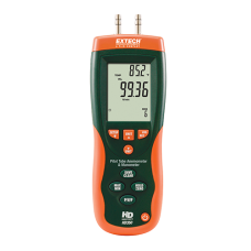 Extech HD350  Pitot Tube Anemometer + Differential Manometer