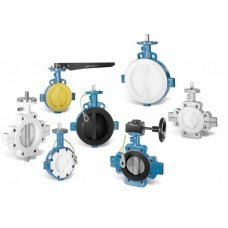 GAR-SEAL® Butterfly Valve for Control, Throttling and Shut-off Duties