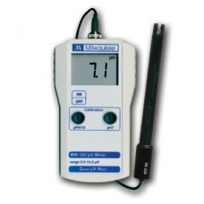 Milwaukee MW100 Standard Portable pH Meter with 0.1 pH resolution